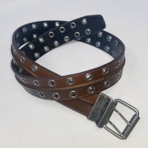 Leather Men's Belt Size M